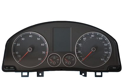 Repair for Audi VW Seat instrument cluster pixel failure on